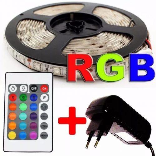 fita 3528 super led rgb 5m 60 leds prova dagua controle D NQ NP 733905 MLB25111274141 102016 F