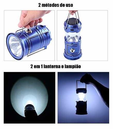 lampiao e lanterna led recarregavel solar e energia usb D NQ NP 621057 MLB26093957818 092017 F