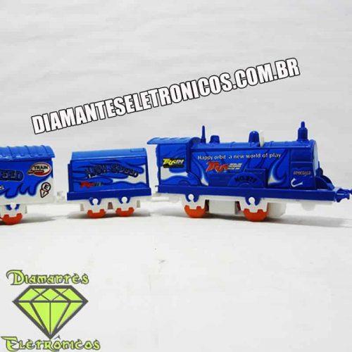 Trenzinho locomotiva de brinquedo a pilha