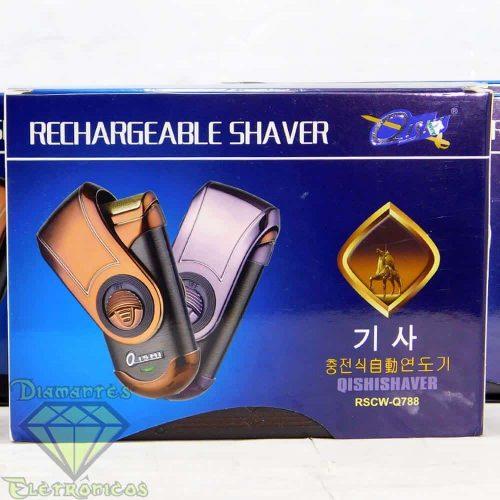 Barbeador Portátil Qishi Rscw-q788