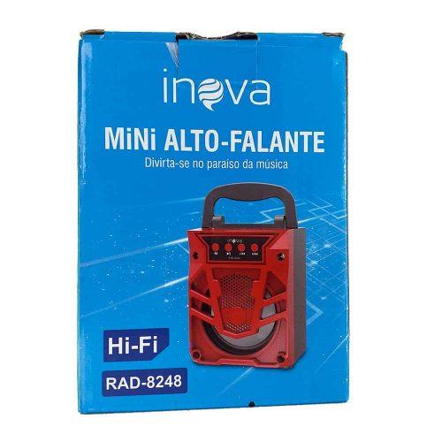 Caixinha de som Inova RAD-8248