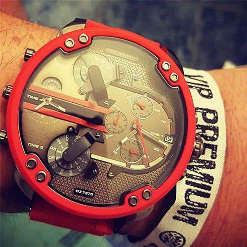 Relógio Cagarny 6830 Estilo Ferrary 7