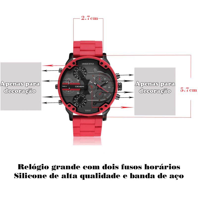 Relógio Cagarny 6830
