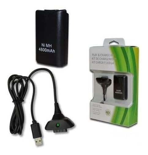 Bateria para controle Xbox 360 3