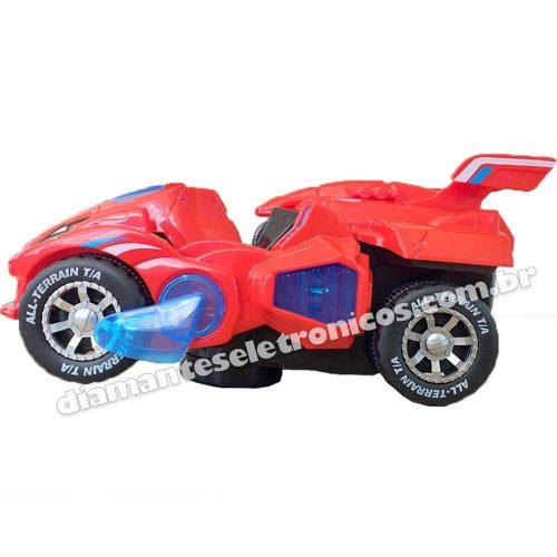 Carro Robô Dinossauro