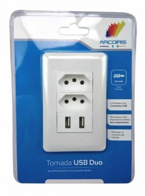 Tomada USB de parede