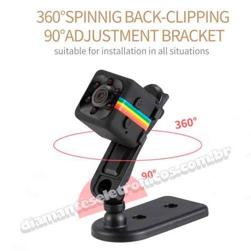 Micro câmera espiã SQ11