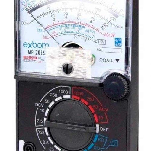 Multímetro Analógico MP-20ES