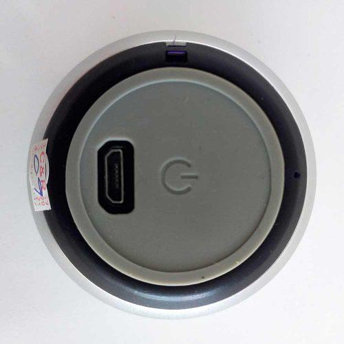 Caixinha de Som Metal Bluetooth Speaker