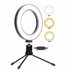 Iluminador Ring Light 6 Polegadas 16cm Usb Led