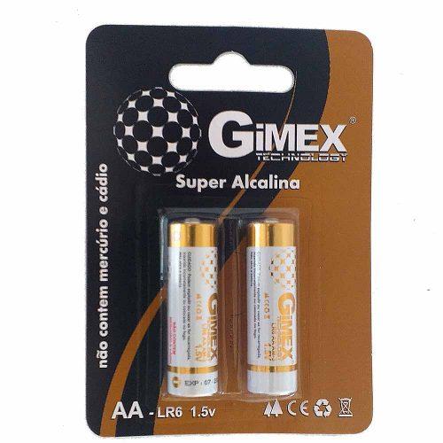 Pilhas Gimex Super Alcalina