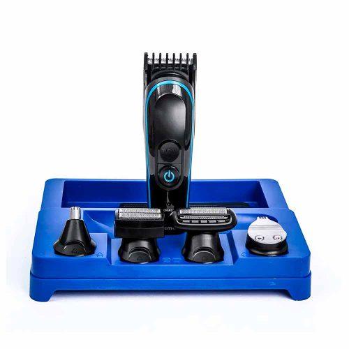 Barbeador aparador Pelos 5 Em 1 Kemei KM-690